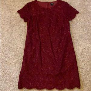 Ann Taylor short sleeved sheath dress